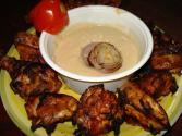 Chicken Barbecue With Hummus